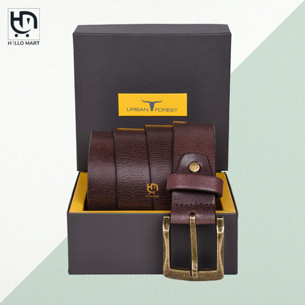Brown Clark Leather Belt